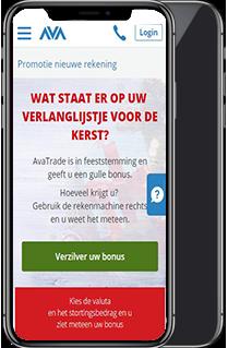 avatrade mobiel mockup - litecoinkoers.nl